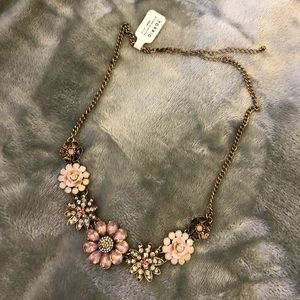 NWT torrid floral statement necklace